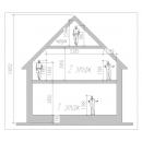 Высота дома и высоты этажей