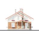 фасады-вариант дома 1,5 этажа
