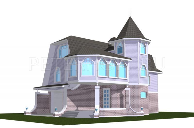Жилые дома шатрового типа