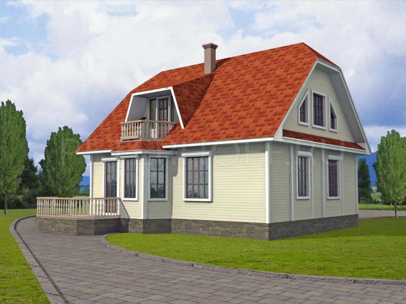 Фасады дачных домов фото