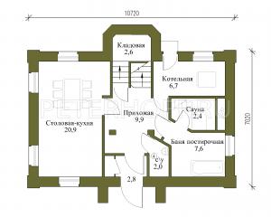 План 1 этажа (основной)