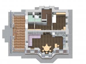 Первый этаж в объёме