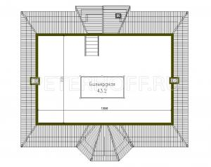 План Мансардного этажа
