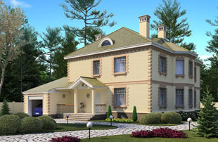 Типовые проекты загародных домов