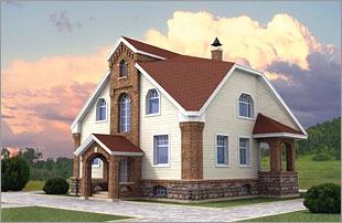 Проект дома из газобетона проект
